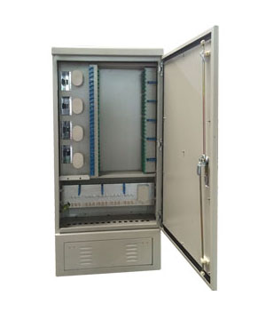 288 core stainless steel optical cable transfer box